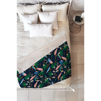 Holli Zollinger Adobo Jungle Fleece Throw | Overstock.com Shopping - The Best Deals on Throws