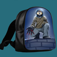 Creepypasta Ticci Toby for Backpack / Custom Bag / School Bag / Children Bag / Custom School Bag *