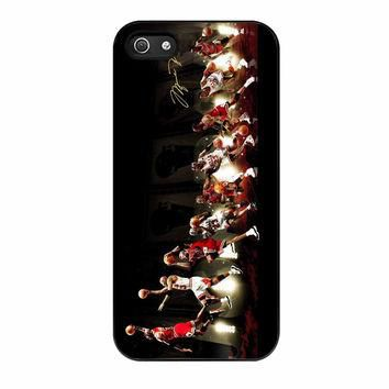 Michael Jordan NBA Chicago Bulls Dunk iPhone 5 Case