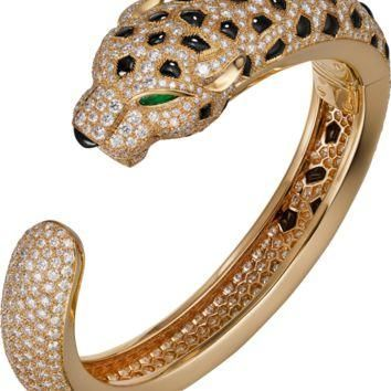 Panth¨¨re de Cartier bracelet: Panth¨¨re de Cartier bracelet, 18K yellow gold, set with