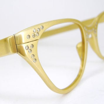 Vintage Tura Cat Eye Eyeglasses Frame with by Vintage50sEyewear