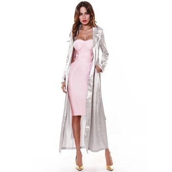 Silk Spring Long Duster