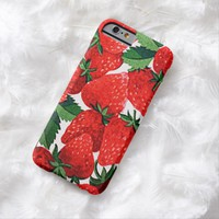 Claire Blossom Strawberry Barely There iPhone 6 Case