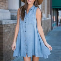 Take Two Dress, Chambray