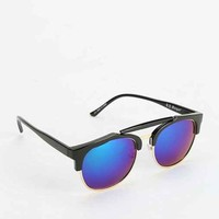 Beach Bum Mirrored Catmaster Sunglasses- Black One
