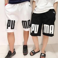 PUMA Summer Popular Men Casual Print Sports Running Shorts