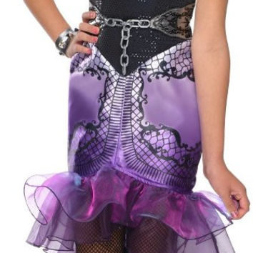 ever after high - raven queen child costume - large (12-14)