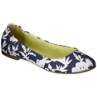 Women's Mossimo Supply Co. Ona Scrunch Ballet Flat - Navy Print