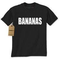 Bananas Funny Mens T-shirt