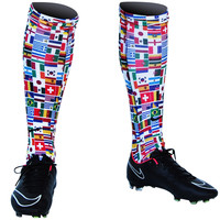 World Cup Flags Soccer Socks