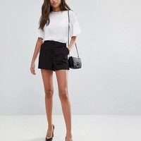 ASOS Tailored A-Line Shorts at asos.com