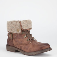 Roxy Thompson Womens Boots Brown  In Sizes