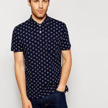 Polo Ralph Lauren Polo Shirt with Anchor Print