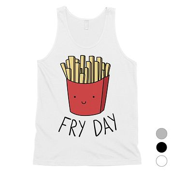365 Printing Fry Day Mens Funny Saying Amusing Tank Top Gift For Friend