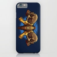 Death's Ahead - Natural iPhone & iPod Case by Artistic Dyslexia | Society6