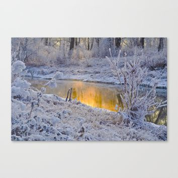 It's Gold Outside Canvas Print by Mixed Imagery