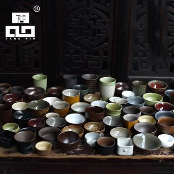 TANGPIN ceramic teacups chinese tea cup porcelain random delivery a cup of mysterious cup drinkware