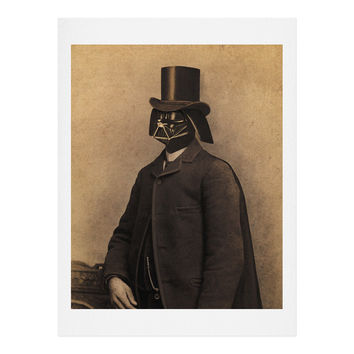 Terry Fan Lord Vadersworth Art Print