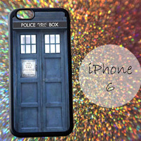 Blue Tardis Box Police - cover case for iPhone 4|4S|5|5C|5S|6|6 Plus Note 2|3 Samsung Galaxy S3|S4|S5 Htc One M7|M8