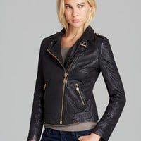 Quotation: Doma Jacket - Leather | Bloomingdale's