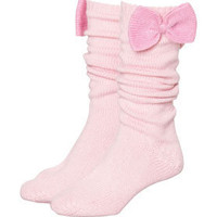 Peter Alexander - Women - Slippers - Chunky Knit Bow Socks