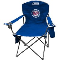 MLB Minnesota Twins XL Cooler Quad Chair