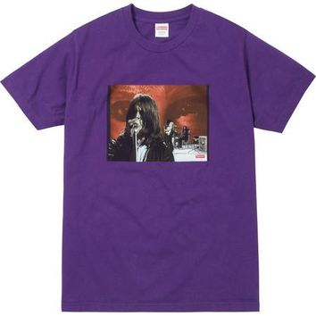 Supreme Black Sabbath Paranoid Tee - Purple