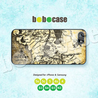 The Lord of the Rings, Mordor Map, iPhone 5 case, iPhone 5C Case, iPhone 5S case, Phone Cover, iPhone 4 Case iPhone 4S Case iPhone case 0350