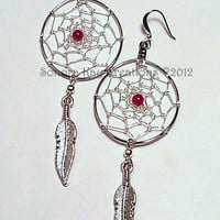 Wired Dreamcatcher Earrings