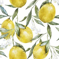 Life of Lemons Removable Wallpaper