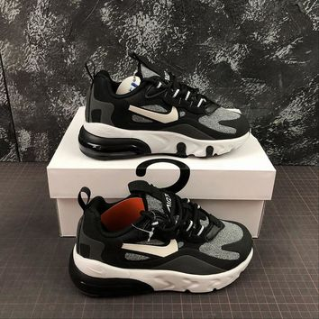 Nike Air Max 270 React Optical Toddler Kid Running Shoes Child Sneakers - Best Deal Online