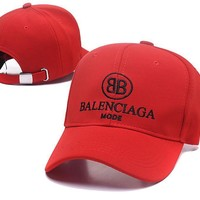 balenciaga baseball caps Adjustable Baseball Cap Unisex Couple Cap Fashion Leisure dad Hat Snapback Cap undefined