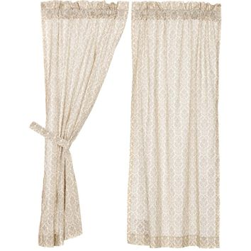 Ava Short Panel Curtains