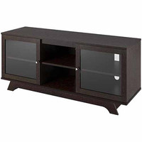 Walmart: Cinnamon Cherry Transitional TV Stand for TV's up to 55""