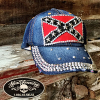 'Heritage Not Hate' Rebel Flag Hat (hat003)