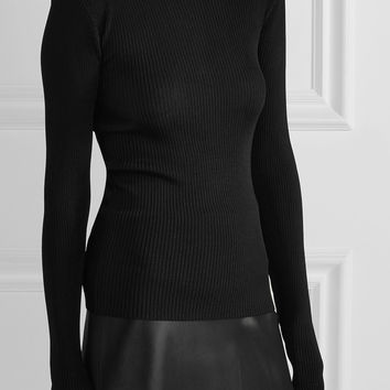 Protagonist - Ribbed-knit sweater