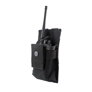 Tactical Radio Case Holder Holster Walkie Talkie Holster Adjustable Molle Pouch Open Top Magazine M4 Mag Pouch