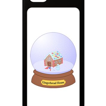 Little Gingerbread House Snow Globe iPhone 5 / 5S Grip Case  by TooLoud