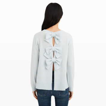 Sidone Bow Cashmere Sweater