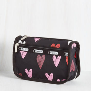 Travel A Love and Beyond Makeup Bag by LeSportsac from ModCloth