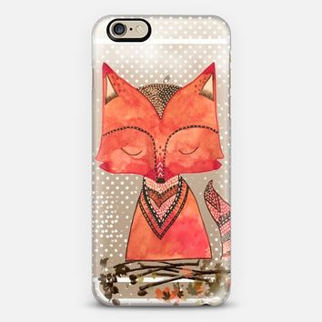 Fox iPhone 6 case by Li Zamperini Art | Casetify