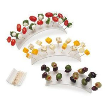 RAINBOW HORS D'OEUVRES SET | Appetizer Serving Plate, Party Dish | UncommonGoods