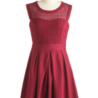 A Berry Important Date Dress | Mod Retro Vintage Dresses | ModCloth.com