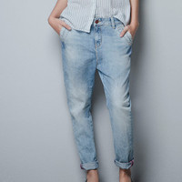 BAGGY JEANS - Last sizes - TRF - ZARA United Kingdom