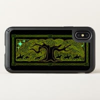 Celtic Magic - The Great Tree Speck iPhone X Case