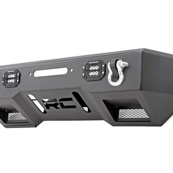 Jeep JK | JKU Front Bumper with LED Fog Lights 2007 - 2017