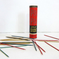 Vintage Pick Up sticks / Kid's Game night