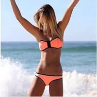 SIMPLE - Fashionable Women Sexy Swimsuit Bikini Set b4864