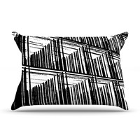 "Trebam ""Celik"" Black Lines Pillow Case"