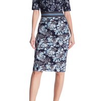 Vince Camuto | Printed Bodycon Dress | Nordstrom Rack
